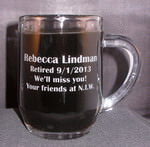 Personalized 10 oz Optic Coffee Mug