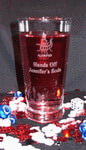 Personalized 14oz Soda Glass