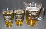 Personalized 20 oz Pint Glass and Beer Pitcher Set
