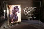 "Personalized 5"" x 7"" Horse Memorial Picture Frame"