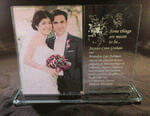 "Personalized 5"" x 7"" 5 x 7 Footed Picture Frame"