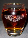 Personalized Crystal Atelier Engraved Double Old Fashioned Whiskey Glass
