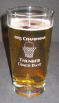 Personalized Basketball Beverage/Pint Glass