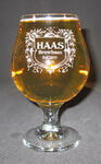Personalized Belgian Beer Glass