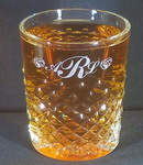 Personalized Carats Engraved Double Old Fashioned Whiskey Glass