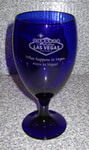 Personalized Cobalt Premium Tall Iced Glass