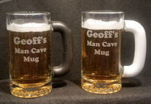 Frost-Free Grip Tankard Beer Mug, Personalized