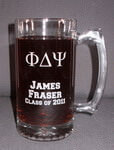 Personalized Graduation Sport Beer Mug