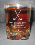 Personalized Crystal On the Rocks Personalized Double Old Fashioned Glass
