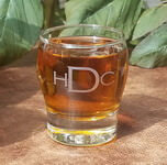 Engraved Perception Rocks Whiskey Glass