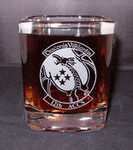 Personalized Prism Rocks Whiskey Glass