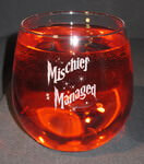 Personalized Stemless Red Wine Glass