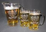 Personalized Tankard Beer Mug and Beer Pitcher Set