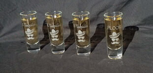 Personalized Tequila Shooter Shot Set