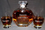 Puccini Personalized Whiskey Decanter Set