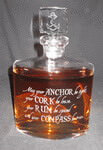 Personalized Crystal Whitney Decanter