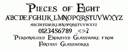 Fonts | Fantasy Glassworks - Rockford, IL