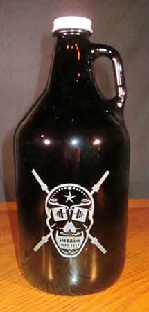 Personalized Engraved Growler