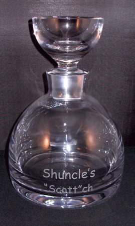 Lead Free Crystal Tradewinds Whiskey Decanter