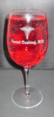 Personalized Engraved Aero Goblet
