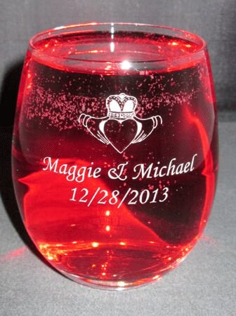 Personalized Engraved Aero Stemless Wine Glass