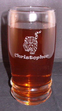 Personalized Engraved 22 oz Cascade Ice Tea