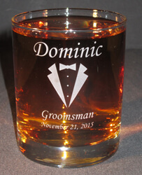 Personalized Engraved Lexington Double Old Fashioned
