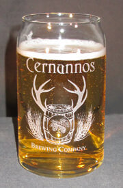 Personalized Engraved Glass Beer Can