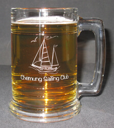Personalized Maritime Engraved Beer Mug