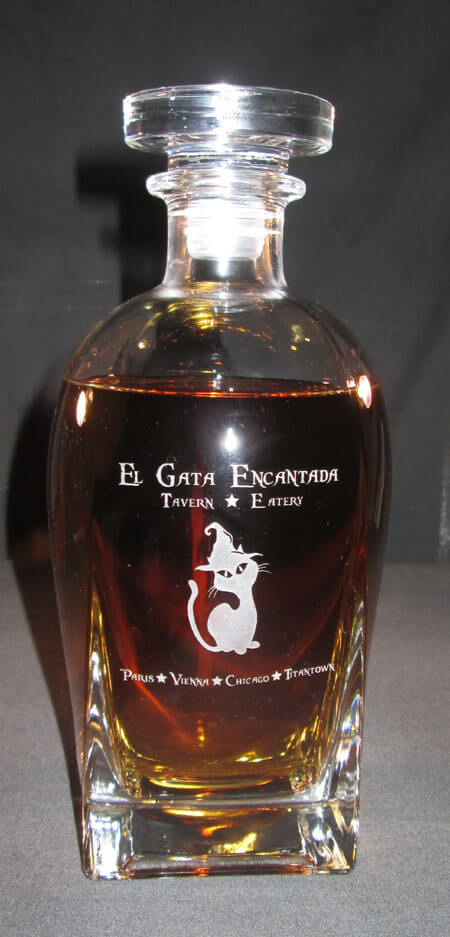 Personalized Engraved Rossini Whiskey Decanter