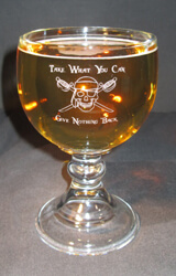 Personalized Engraved Schooner