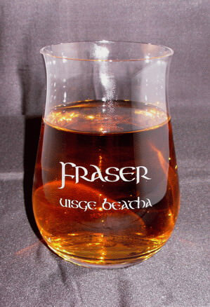 Personalized Engraved Lead-free Crystal Single Malt Scotch