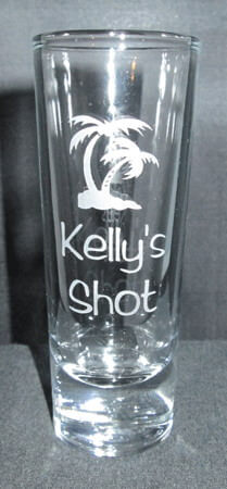 Personalized Engraved Tequila Shooter