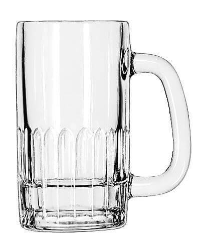 Mug, Low Paneled, 12 oz